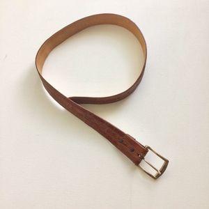 Kenneth Cole Men's Tan Belt Size 32